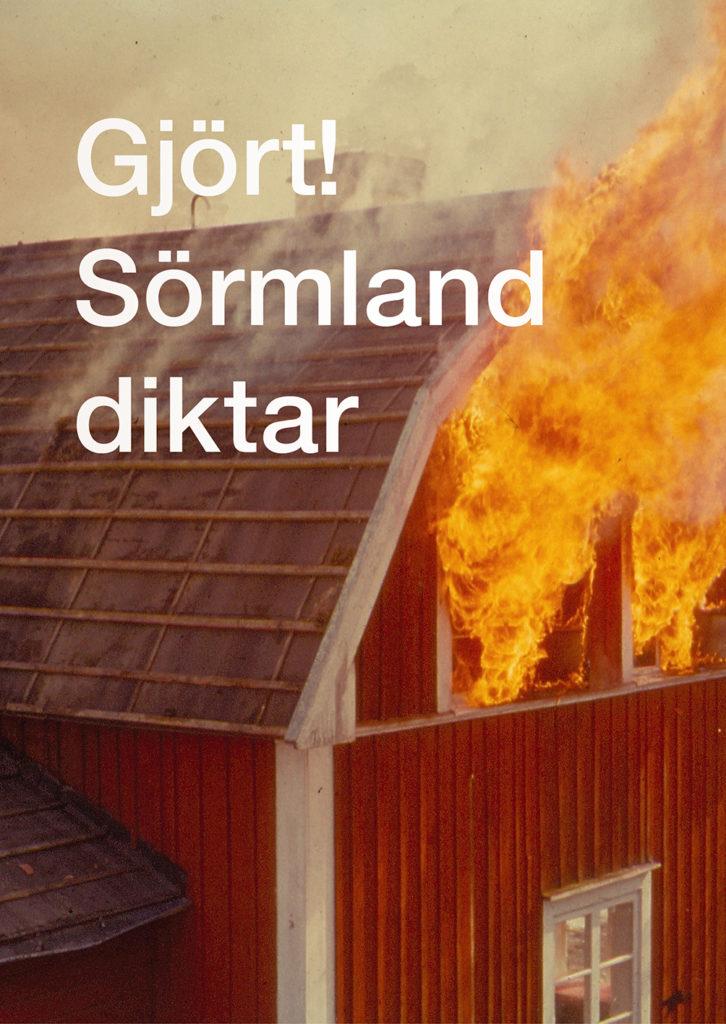 Omslag Gjört! Sörmland diktar
